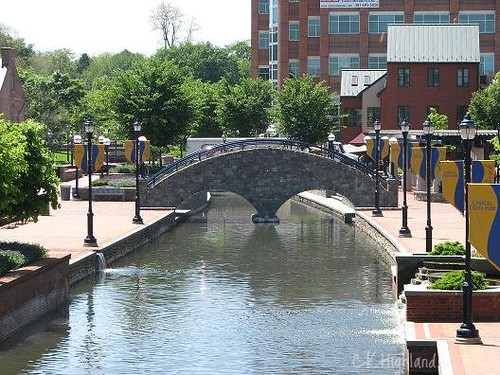 Carroll Creek Downtown Frederick Md