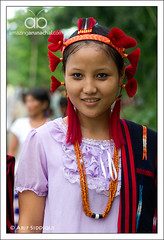 Sema Naga Girl04 (Arif Siddiqui) Tags: costumes people india beauty festival kids portraits asia traditional tribal tribes local sema ethnic northeast naga arif arunachal nagaland attire siddiqui itanagar