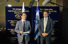 アヤロンイスラエル副外務大臣と