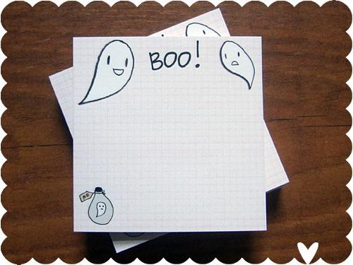 Spooky Wooky Sticky Notes