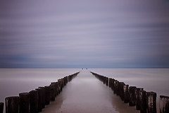 Groynes-VI (DolliaSH) Tags: longexposure sea seascape color beach colors strand canon photography photo topf50 foto photos noordzee zeeland zee filter le northsea topf150 topf100 nordsee groynes 1755 domburg zeewering 3000views canonefs1755mmf28isusm nd110 canoneos50d dollia dollias sheombar dolliash bw10stopsolidndfilter