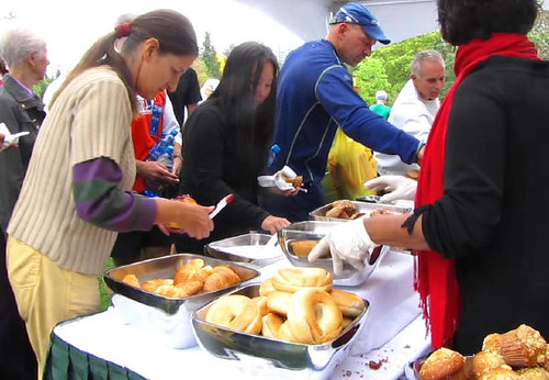Catering provided by Four Seasons Hotel. Vancouver's Terry Fox Run 2010 Re-ignites Marathon of Hope at 30th Anniversary in Stanley Park