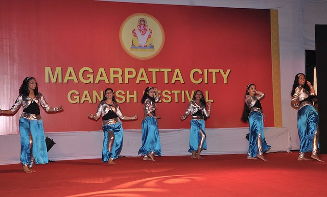 Fun & frolic by the talented at the Magarpatta City Ganesh Festival