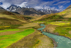 Classy Morning (M Atif Saeed) Tags: pakistan mountain mountains green nature water landscape fields areas northern northernareas chitral atifsaeed chilmarabad broghal bhrogil gettyimagespakistanq1