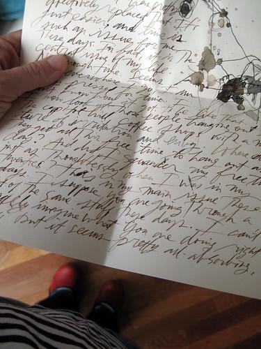 letter from joe