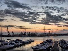 September sunset - Impressioni di Settembre (NIKOZAR (Nicola Zaratta)) Tags: sunset sea marina tramonto mare barche september porto settembre puglia molo golfo taranto marpiccolo golfoditaranto mywinners molosaneligio portoditaranto