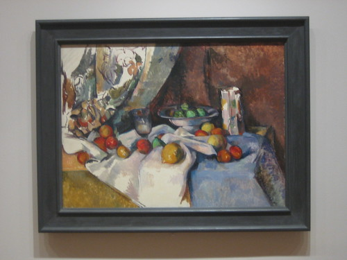 Still Life with Apples, 1895-98, Paul Cézanne _7455
