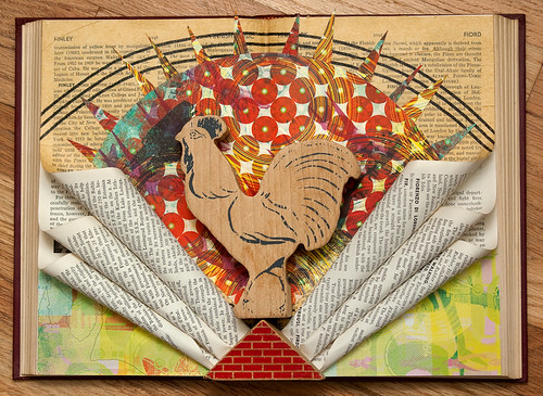 Altered Book: Heralding The Dawn Of A New Day