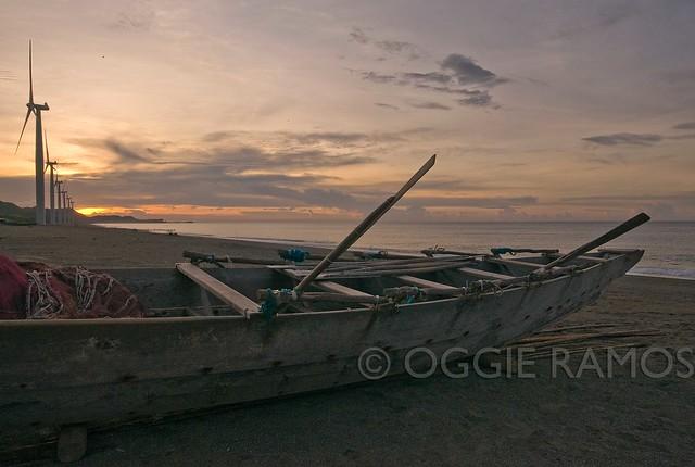 Ilocos Norte - Bangui Banca Sunset