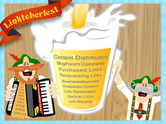 Linktoberfest infographic