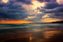 Today's sunrise (Theophilos) Tags: sea sky reflection clouds sunrise waves greece crete rethymno κρήτη ελλάδα σύννεφα κύματα θάλασσα ανατολή αντανάκλαση ρέθυμνο ουρανόσ