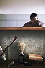 Un mattino (A morning) (p$ychoboyJ@ck) Tags: life morning italy bathroom soap italia alone loneliness live pissing toothbrush bagno selfshot mattino sapone solitudine risveglio spazzolino pisciare esistere sopravvivere pennellodabarba viveredasolo vivendodasolo