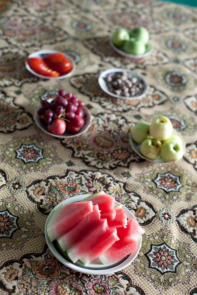home restaurant, Bukhara Uzbekistan