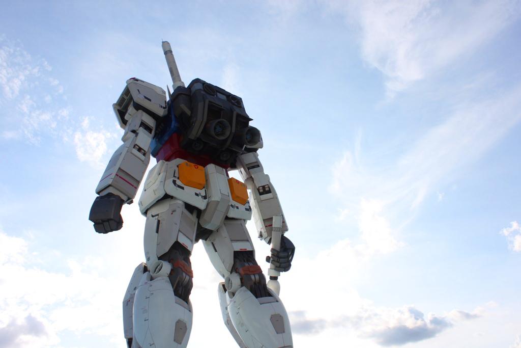 Real Size GUNDAM moved to Shizuoka (8)