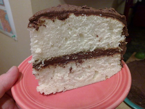 Cake cross-section