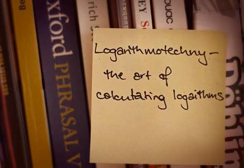 24/365 : Logarithmotechny