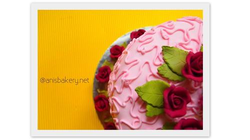Fondant Cakes for wedding