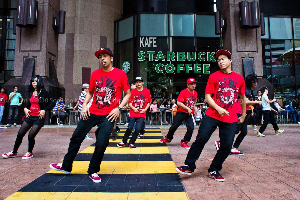 Practice - Battleground 2010 @ Berjaya Times Square, KL, Malaysia