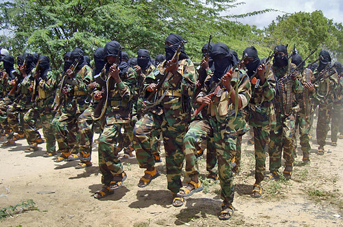 Somalia resistance forces in formation. The U.S.-backed Transitional Federal Government has suffered another blow in the aftermath of the resignation of the Prime Minister with the withdrawl of support by a pro-TFG militia group on September 25, 2010. by Pan-African News Wire File Photos