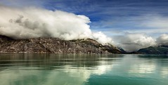 glacier bay (peo pea) Tags: cruise usa alaska clouds bay nuvole glacier colorphotoaward