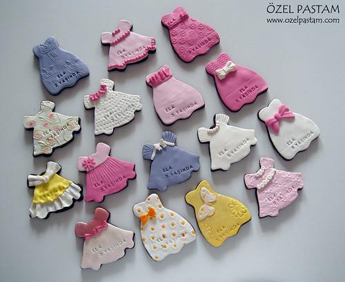 Prensess Ela'nın Elbise Kurabiyeleri / Princess Dress' Cookies