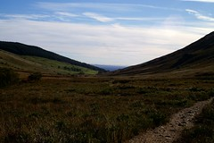 LookingDownNorthGlenSannox (Assja) Tags: autumn mountains fall water leaves forest landscape golden scotland highlands rocks stream heather herbst glen hills naturereserve valley bracken rowan isleofarran birches indiansummer birchtree schottland wirbel herbststimmung ruska naturreservat hochland wildbach zauberwald birkenwald farnkraut heidekraut ebereschen torfmoor remarkabletrees feenwald wildpfad thebrackenisgoldinthesun northendofarran subarktischestimmung