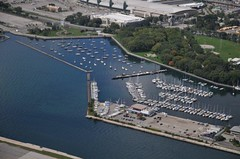 Aerial view of National Yacht Club #3