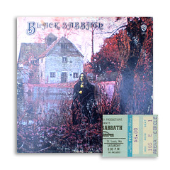 Black Sabbath (gregg_koenig) Tags: black metal witch ticket arena lp record 70s 1978 1970 heavy stub sabbath ozzy geezer checkerdome