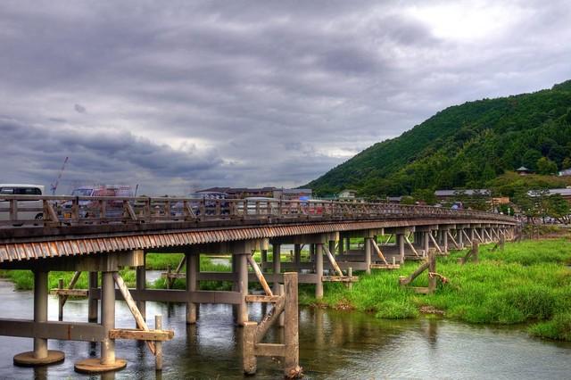 度月橋 - 嵐山 - HDR