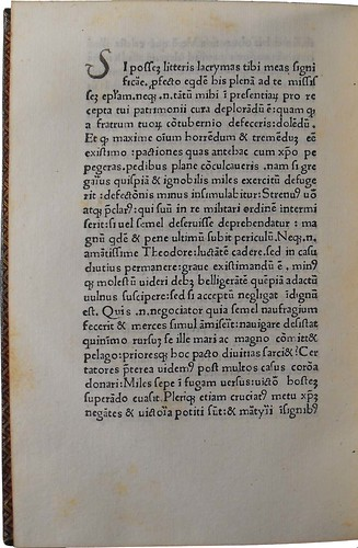 Page of text from 'Sermones morales XXV'. Sp Coll Hunterian Bx.3.13.