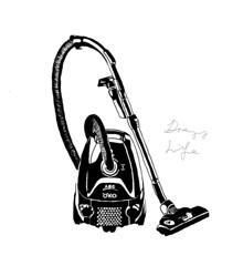 Drawing Life: Vacuum Cleaner