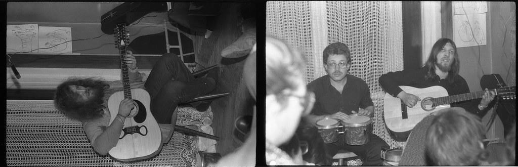 квартирник Папа Лёша и Крематорий/ Москва 1985