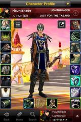 WoW Armory app