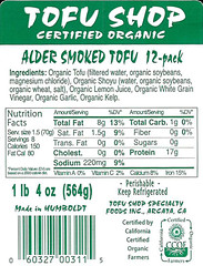 Alder Smoked Tofu Sticks 12-pack