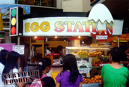 Egg Station at Victory Mall in Monumento - best tokneneng sauce I've ever had! - CertifiedFoodies.com