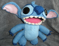 Stitch (of Lilo and Stitch) late for Tony's Birthday