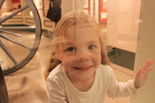 Amelia at the War Museum