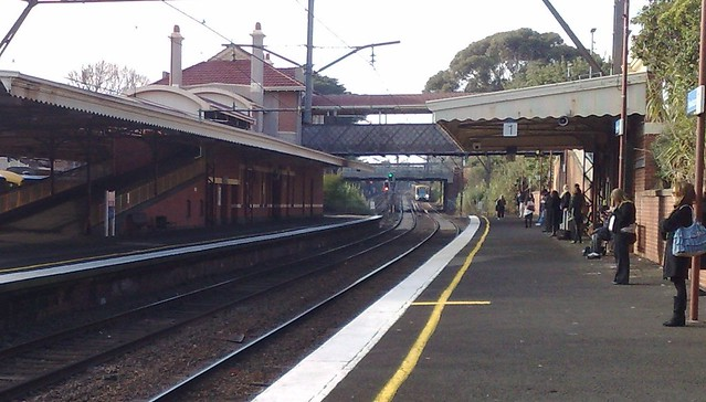 Hawksburn station