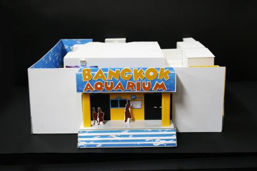 Bangkok Aquarium Environmental Graphic
