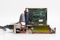 Rig (splorp) Tags: canada calgary metal computer naked drive hardware interior alberta harddrive hd circuit quantum circuitboard scsi compunbula