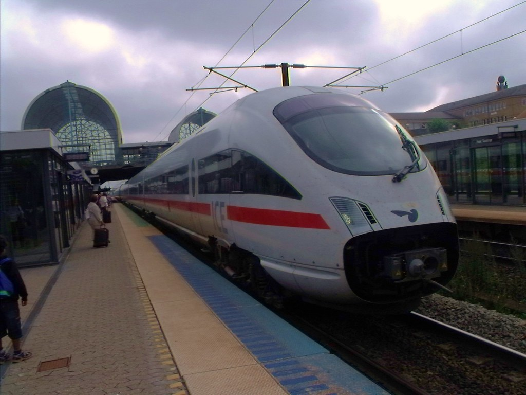 Hřje Taastrup train station, Denmark headed for Deutschland
