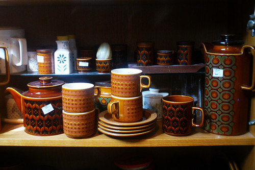 hornsea retro crockery