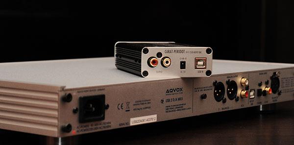 AQVOX USB2D/A, Carat Peridot e VHF-1 5042555261_104efc36b6_o_d