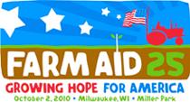 Farm Aid 25 logo