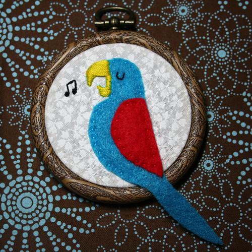 Tiki Bird #1