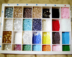 Seed bead box one