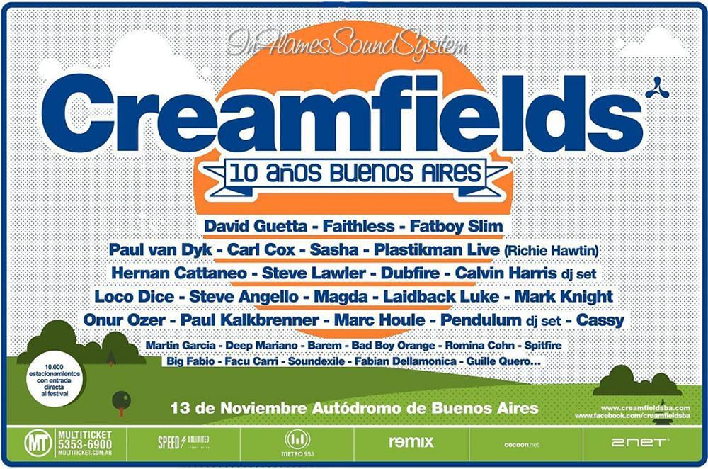 Creamfields Buenos Aires 2010 - 13 de Noviembre [IFSS]