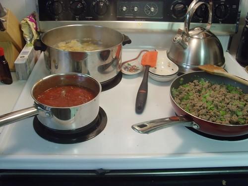 Recipe Redux: Ziti with Italian Sausage