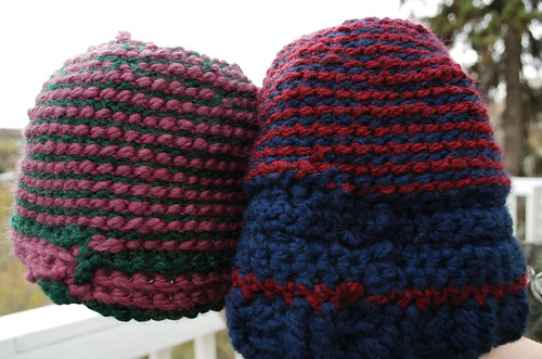 Tunisian hats, inside