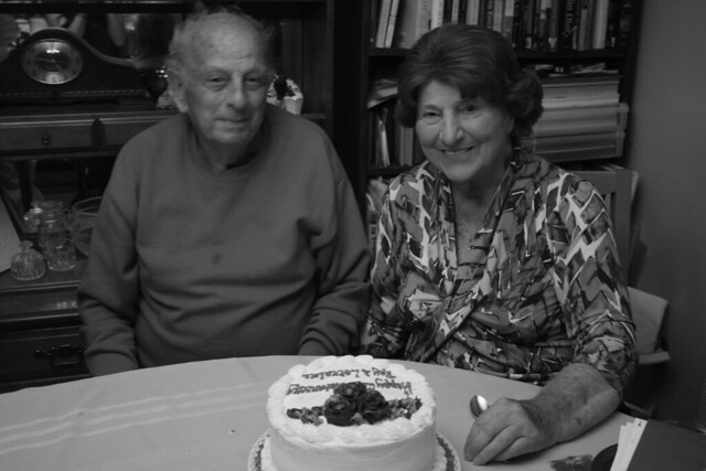 ray and lorraine for their 62nd anniversary